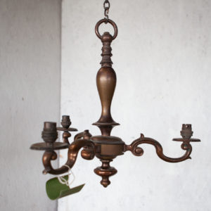 dutch style 3 arm chandelier