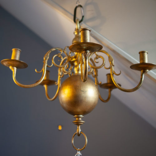 5 arm dutch chandelier