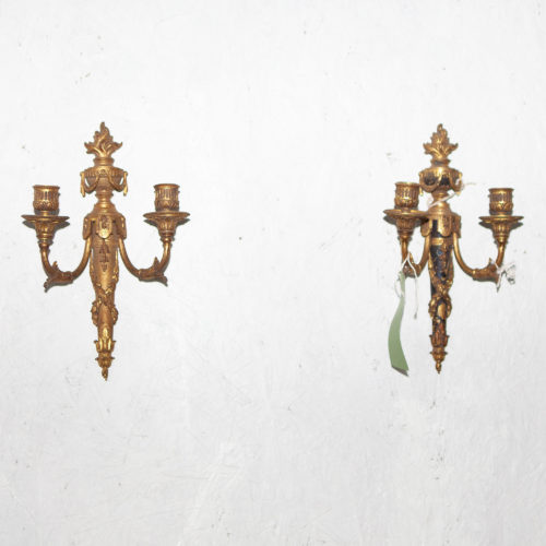 victorian tapered wall sconce