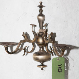 animal detail wall sconce
