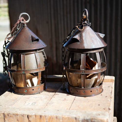 sheet brass lanterns