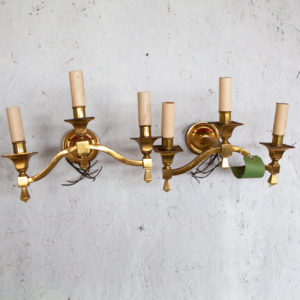 Edwardian wall sconces
